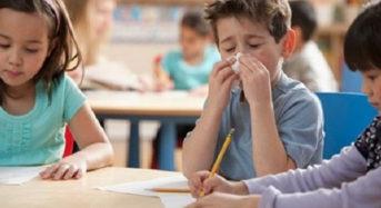 Έξι συμβουλές για να μην αρρωσταίνουν συχνά τα παιδιά το χειμώνα