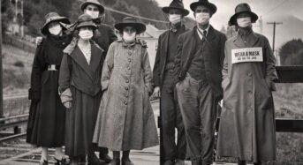 Ισπανική Γρίπη : Εκατό χρόνια πριν, οι άνθρωποι τα έβαζαν και πάλι με τις μάσκες τους
